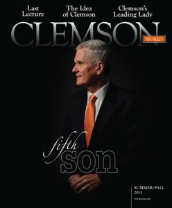Clemson World Barker Commemorative Issue Clemson World Barker Commemorative Issue 2013